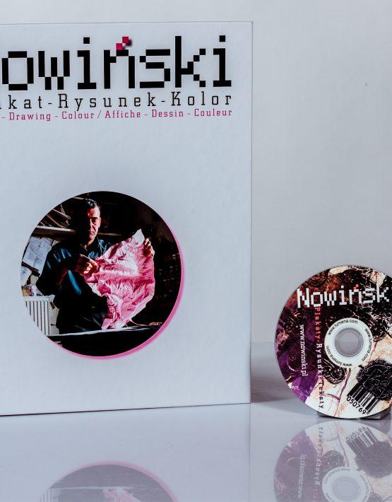 Marian Nowiński - Plakat - rysunek - kolor - książka + CD