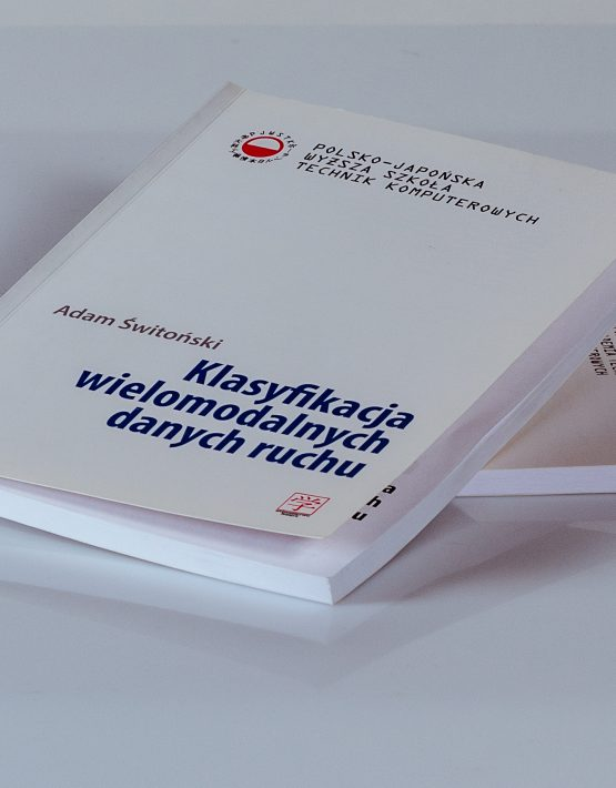 Książki Klasyfikacja wielomodalnych danych ruchu