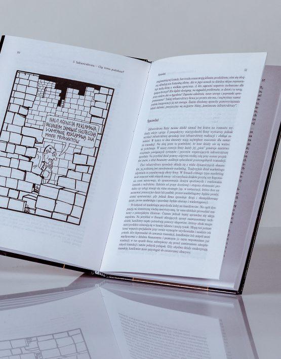 Książka Wiarygodność, ilustracja Andrzeja Mleczki