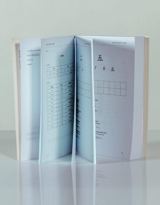 Podstawowe znaki japońskie - wnętrze książki