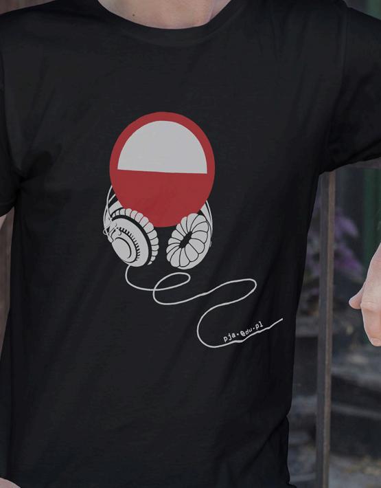 Koszulka męska Słuchawki