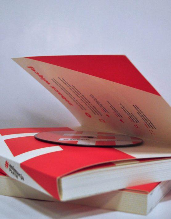 Książka #animacja PJATK z płytą