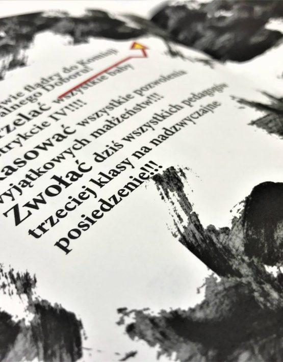 Strona książki Gyubal Wahazar