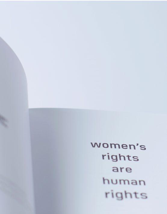 Detal książki Women's rights are human rights