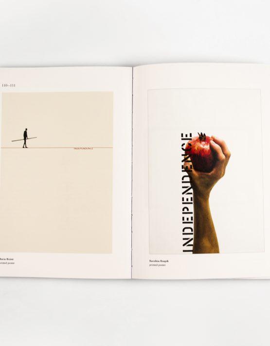 Plakaty z książki 100 x independence